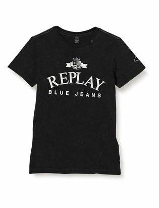 Replay Boy's Sb7308.021.22658g T-Shirt