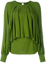 Plein Sud Jeans draped blouse - women - Viscose - 40