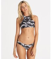 Billabong Women's Island Time Reversible Hi Neck Bikini Top