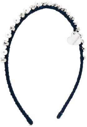 MonnaLisa Faux Pearl Embellished Hairband