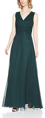 Vera Mont Women's 2123/5000 Party Dress Darkest Green 5651