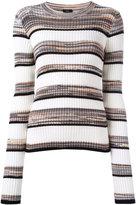 Joseph striped jumper - women - Cotton/Viscose - L