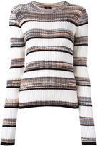 Joseph striped jumper - women - Cotton/Viscose - XS