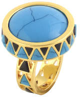 House Of Harlow Heirloom Cocktail Ring