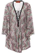 Missoni Mare Metallic knitted cover-up