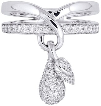 Boodles White Gold and Diamond Orchard Ring