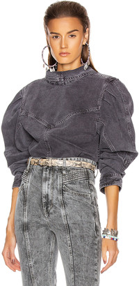 Isabel Marant Espera Top in Faded Night | FWRD