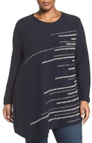 Nic+Zoe Shooting Stars Sweater (Plus Size)