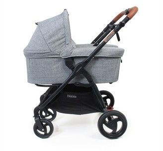 Valco Baby Bassinet Snap Duo Trend - Grey Marle