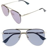 Le Specs 'The Prince' 57mm Sunglasses