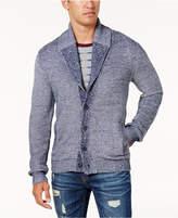American Rag Men's Textured Shawl Cardigan, Created for Macy's