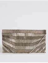 M&S Collection Beaded Clutch Bag