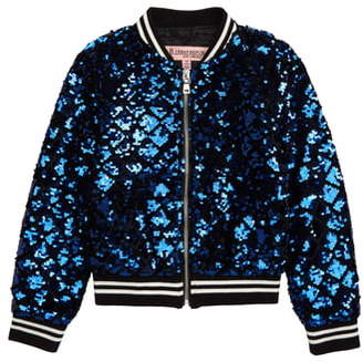 Urban Republic Sequin Bomber Jacket