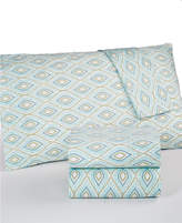 Martha Stewart Collection CLOSEOUT! Collection Divine California King 4-pc Sheet Set, 300 Thread Count Cotton Percale, Created for Macy's