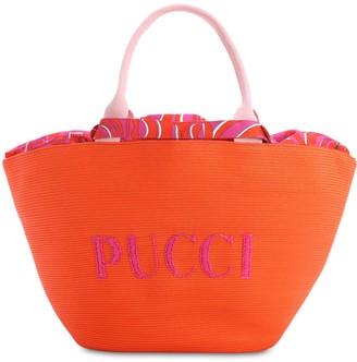 Emilio Pucci RIVA BEACH LOGO BAG