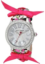 Betsey Johnson BJ00131-77 - Bow Print Watches