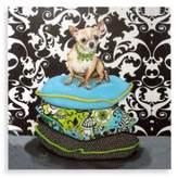Bed Bath & Beyond Chihuahua on Pillows I Wall Art