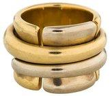Pomellato 18K Two-Tone Spinning Ring