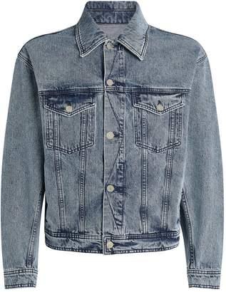 Ami Paris Washed Denim Jacket
