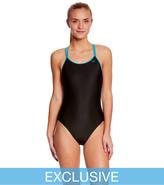 Nike SwimOutlet Exclusive Solid Spiderback Tank One Piece Swimsuit 8147294