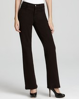 NYDJ Sarah Sueded Bootcut Denim with Whip Stitch Back