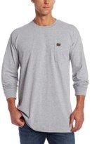 Wrangler RIGGS WORKWEAR Men's Long Sleeve Pocket T- Shirt