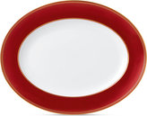Wedgwood Renaissance Red Oval Platter