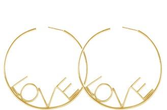 ADORNIA Big Love Hoop Earrings