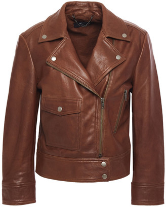 Muu Baa Muubaa Shuna Textured-leather Biker Jacket