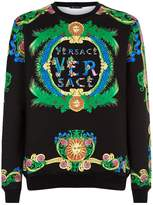 Versace Garden Print Sweater