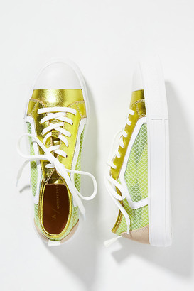 Anthropologie Wylie Sneakers By in Yellow Size 6