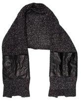 Alexander Wang Rib Knit Pocket-Accented Scarf
