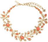 Oscar de la Renta Coral Sea Tangle Necklace