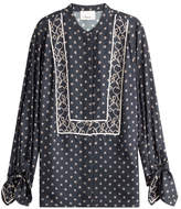 3.1 Phillip Lim Silk Tunic Blouse