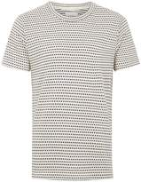 Topman Hymn Cream Herringbone T-shirt*