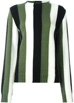 MSGM striped jumper - women - Polyamide/Mohair/Virgin Wool/Polyacrylic - M
