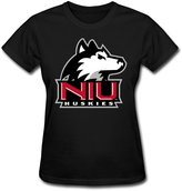 CXY Women T-shirt CXY Women's NCAA Northern Illinois Huskies Athletic Team Logo T-Shirt