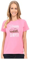 Life is Good Watercolor Happy Camper Crusher Tee