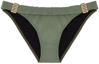 WEST SEVENTY NINE Seasurfer Army Green Bikini Briefs