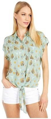Ariat Sun Kissed Shirt (Rain) Women's Clothing