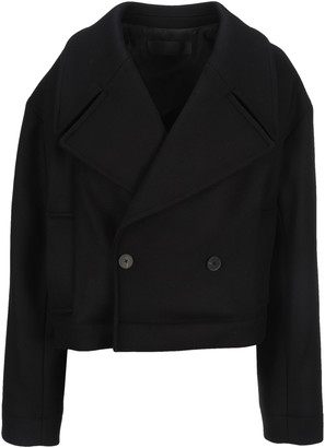 Haider Ackermann Cropped Peacoat