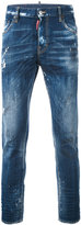 DSQUARED2 light-wash skinny jeans - men - Cotton/Spandex/Elastane - 46