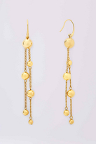 Diane von Furstenberg Gold Ball And Bead Drop Earring