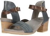Earth Symphony (Lake Scrunch Nubuck/Bark Soft Calf) Women's 1-2 inch heel Shoes