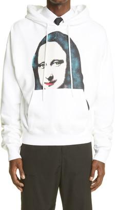 Off-White Monalisa Men's Graphic Cotton Hoodie
