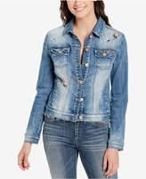 Vintage America Aria Embellished Denim Jacket