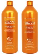 "Mizani Thermasmooth Shampoo + Conditioner 33.8oz Duo ""Set"""
