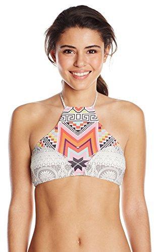 Thumbnail for your product : Rip Curl Junior's MI Amor Hi-Neck Bandeau Bikini Top