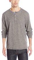 Pendleton Men's Long Sleeve Henley Dark Indigo Shirt, Light Indigo