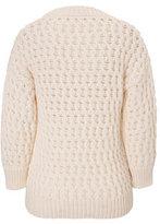 Derek Lam Long Sleeve Crew Neck Sweater